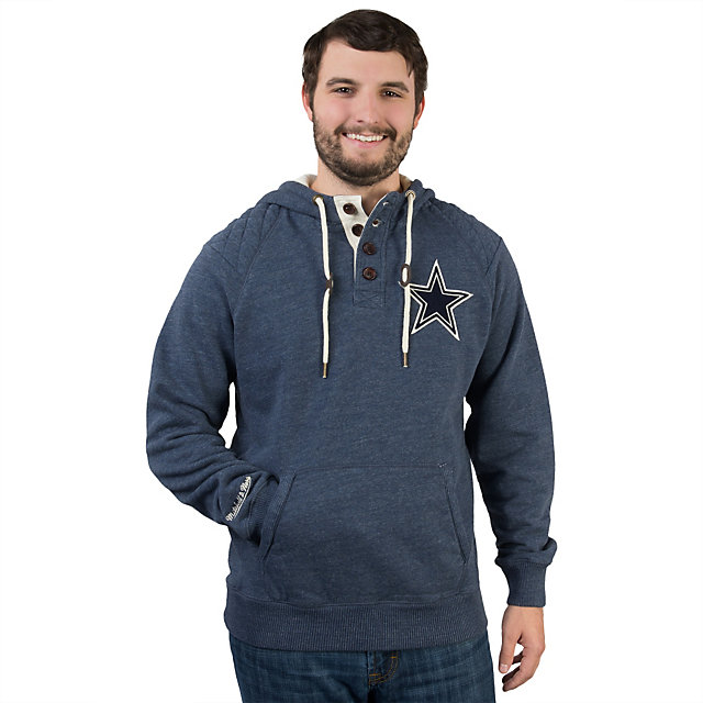 Dallas Cowboys Mitchell & Ness Field Vision Hoody