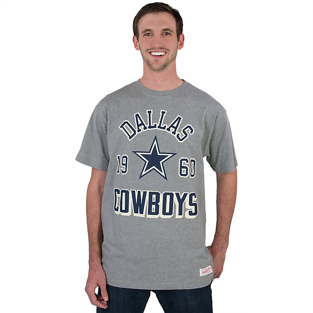 Dallas Cowboys Mitchell & Ness Traditional Fit Tee