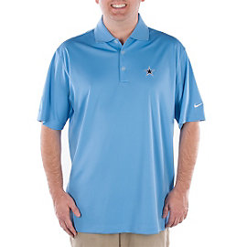 Dallas Cowboys Nike Golf Stretch UV Tech Polo Blue