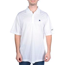 Dallas Cowboys Nike Golf Body Mapping Polo White