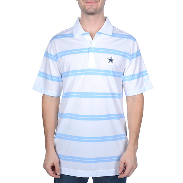 Dallas Cowboys Nike Golf Bold Stripe Polo