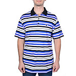 Dallas Cowboys Nike Golf Stretch UV Stripe Polo Blue/Black
