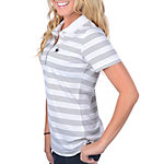 Dallas Cowboys Nike Golf Womens Tech Stripe Polo White