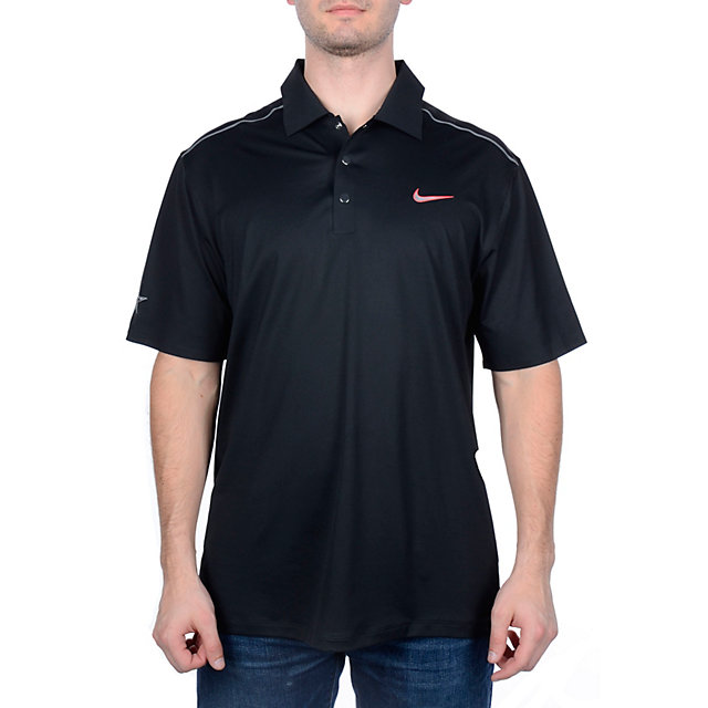 Dallas Cowboys Nike Golf Hyperlite Tiger Woods Polo - Black
