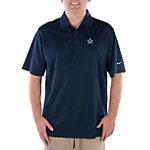 Dallas Cowboys Nike Golf Stretch UV Tech Polo Navy