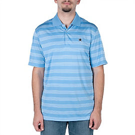 Dallas Cowboys Nike Golf Tech Core Stripe Polo - Blue