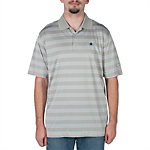 Dallas Cowboys Nike Golf Tech Core Stripe Polo - Grey