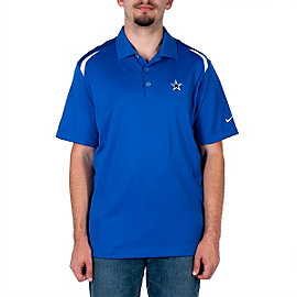 Dallas Cowboys Nike Golf Tech Core Color Block Polo - Royal