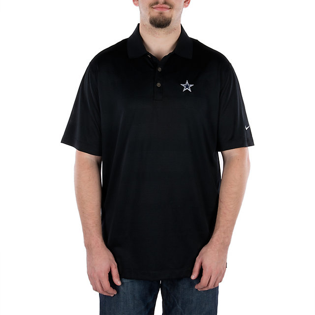 Dallas Cowboys Nike Golf Body Mapping Polo - Black