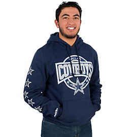Dallas Cowboys Mitchell & Ness Down To The Wire Pullover Hoody