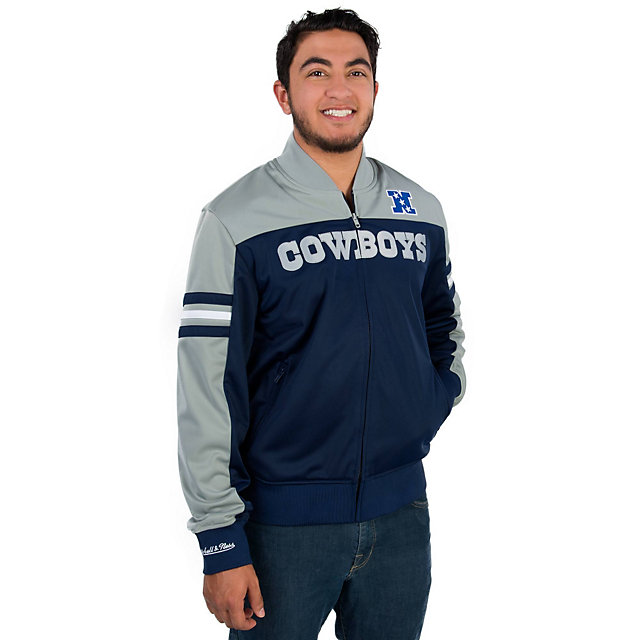 Dallas Cowboys Mitchell & Ness Defenseman Jacket