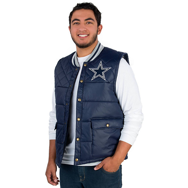 Dallas Cowboys Mitchell & Ness Snap Front Vest