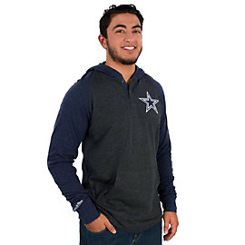 Dallas Cowboys Mitchell & Ness Home Stretch Long Sleeve Hoody