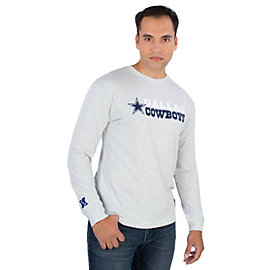 Dallas Cowboys Mitchell & Ness Team Issued Long Sleeve Tee
