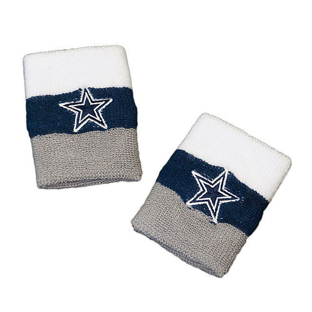 Dallas Cowboys Wristband 2-Pack
