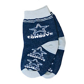 Dallas Cowboys Infant Logo Socks
