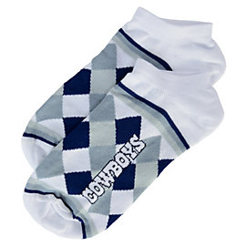 Dallas Cowboys Diamond Stripe Socks
