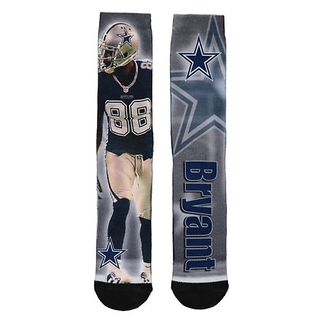 Dallas Cowboys Dez Bryant Drive Socks