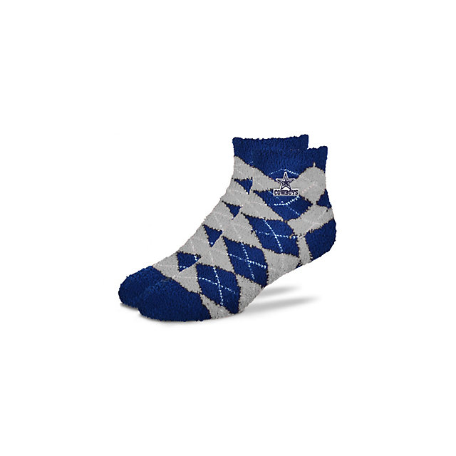 Dallas Cowboys Argyle Sleep Soft Socks