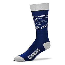 Dallas Cowboys State Outline Crew Socks