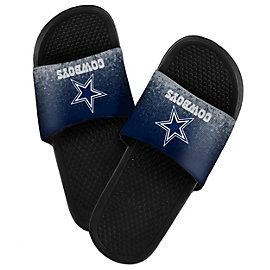 Dallas Cowboys Textured Shower Slides