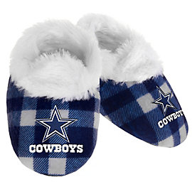 Dallas Cowboys Flannel Baby Bootie Slipper