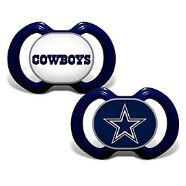 Dallas Cowboys 2-Pack Pacifier