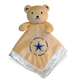 Dallas Cowboys Bear Security Blanket