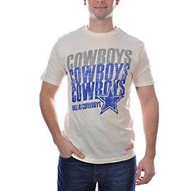Dallas Cowboys Mitchell & Ness Tailored T-Shirt