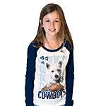 Dallas Cowboys Justice Long Sleeve Puppy Tee