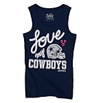 Dallas Cowboys Justice Love Cowboys Tank