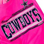 Dallas Cowboys Justice Pink Cowboys Tee