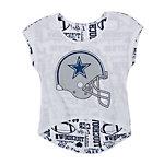 Dallas Cowboys Justice Reverse Helmet Tee