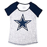 Dallas Cowboys Justice Baseball Tee