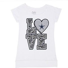 Dallas Cowboys Justice Love Zebra Tunic
