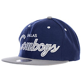 Dallas Cowboys Mitchell & Ness NFL Script 2T Snapback Cap