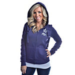 Dallas Cowboys PINK End Zone Full Zip Hoody