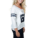 Dallas Cowboys PINK Drapey 3/4 Sleeve Tee