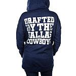Dallas Cowboys PINK Drapey Hoodie