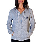 Dallas Cowboys PINK Watercolor Star Full Zip Hoodie