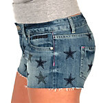 Dallas Cowboys PINK Bling Denim Short