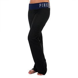 Dallas Cowboys PINK Colorblocked Yoga Pant