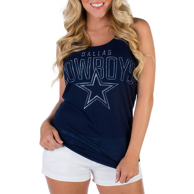 Dallas Cowboys PINK Racer Back Tank