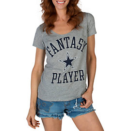 Dallas Cowboys PINK Scoop Neck Tee