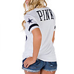 Dallas Cowboys PINK V-Neck Jersey