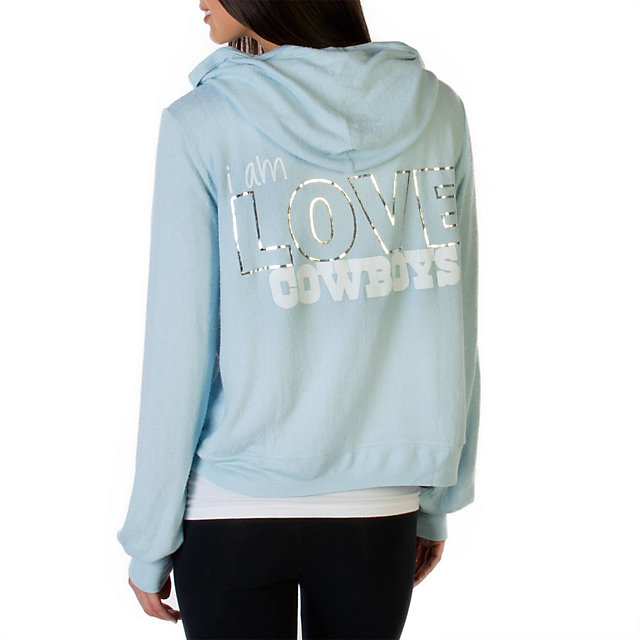 Dallas Cowboys Peace Love World Pastel Hoodie