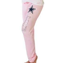 Dallas Cowboys Peace Love World Pastel Pants