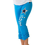 Dallas Cowboys Peace Love World Bright Blue Pants