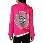 Dallas Cowboys Peace Love World Bright Pink Hoodie