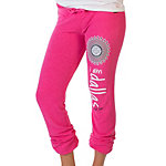 Dallas Cowboys Peace Love World Bright Pink Pants